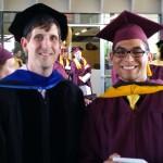 Pedro post graduation photo